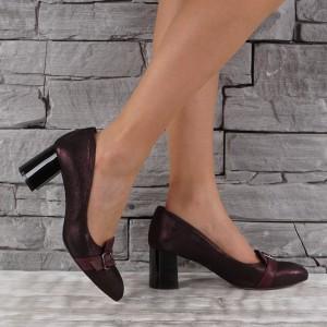 Női bőr cipő VISINI 4568