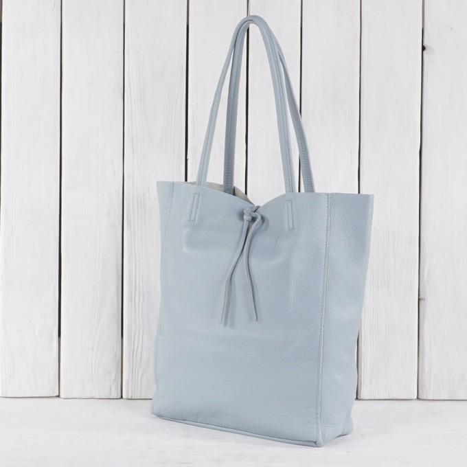 Női bőr naturela táska GS 5504