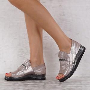 női cipő valódi bőr GS 6938