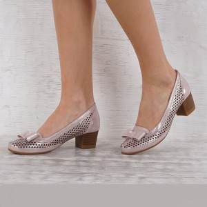 női cipő valódi bőr VISINI 7012