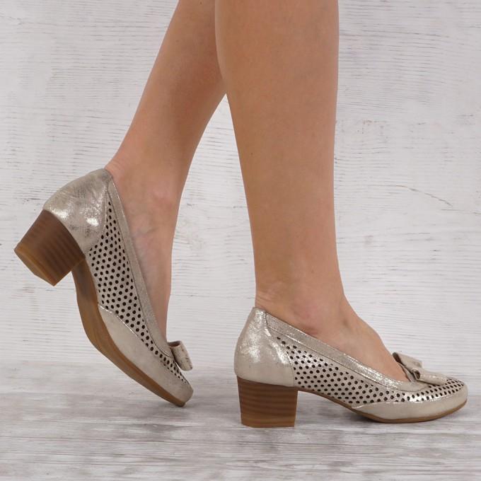 női cipő valódi bőr VISINI 7057