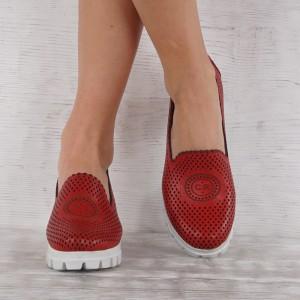 női cipő valódi bőr GS 7084