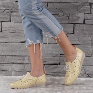 Női bőr cipő GS 7687
