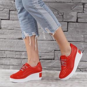 Női bőr cipő VISINI  7726