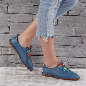 Női bőr cipők  VISINI GS 7753