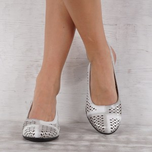 női cipő valódi bőr 7155