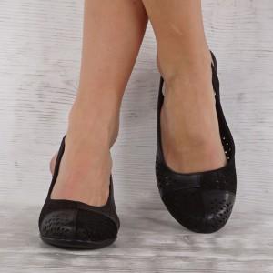 női cipő valódi bőr 7157