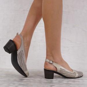 női cipő valódi bőr GS 7220