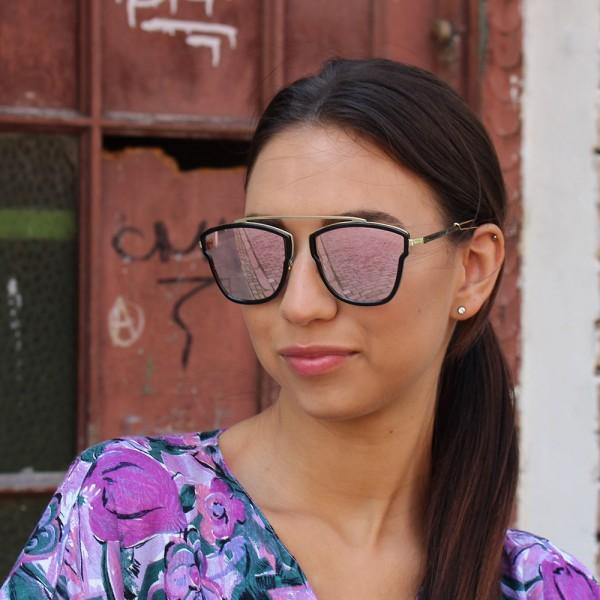 Очила Очила gdior0206s чер рам роз стък 952