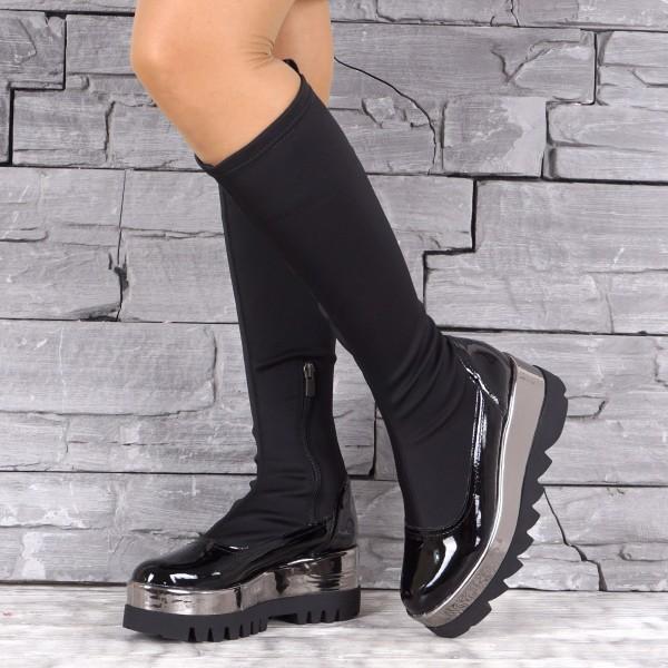 Дамски Обувки Ботуш неопрен 1584