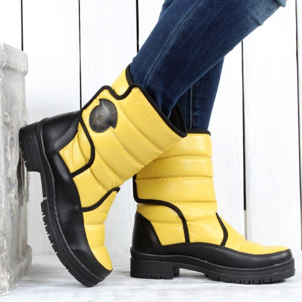 Дамски Обувки апреска жълто 2072