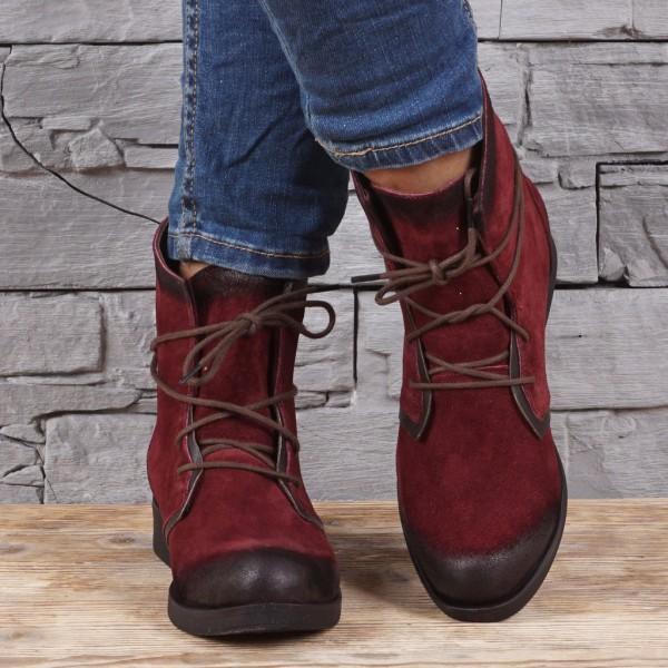 Дамски Обувки бордо 273
