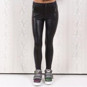 Дамски кожен панталон 4334
