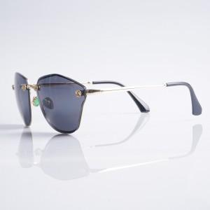 Очила Очила черни стък+зл.рамки/винтроза 2560