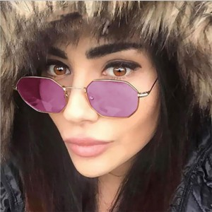 Очила Очила лилави стъкла/ осмоъгалник 2735