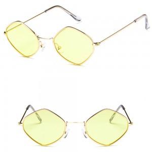 Очила Очила g66217 жълти стъкла+зл.рамки 2718