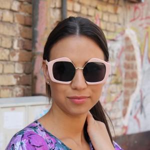 Очила Очила g9081-46 розови с черни стъкла 2682