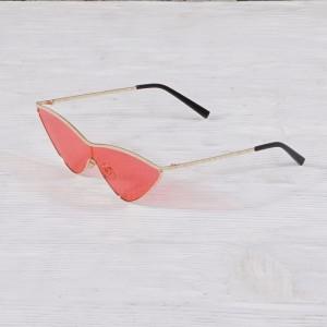 Очила Очила розови стъкла дръпнати със зл.рамки 2719