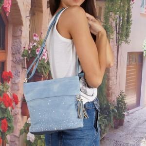 Lady táska denim GS 5301