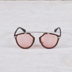 Очила Очила т.розови стък камъни с надпис 2916