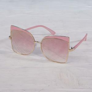 Очила Очила розов огл.стъкл+зл и розов рамка 2917