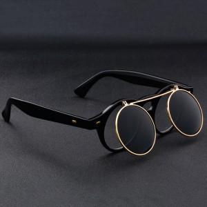 Очила Очила черни стъкла/кръгли малки 2942