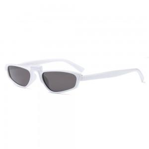 Очила Очила бели с черни стък/малки 2926