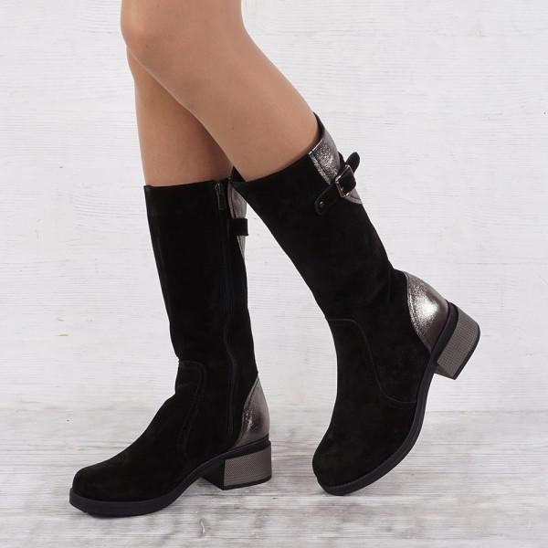 Дамски Обувки б-ш черен вел 450