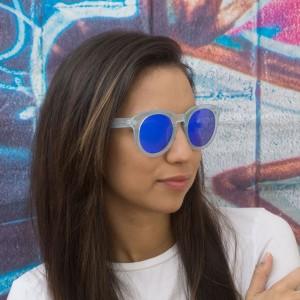 Очила сини рамки сини стъкла 623